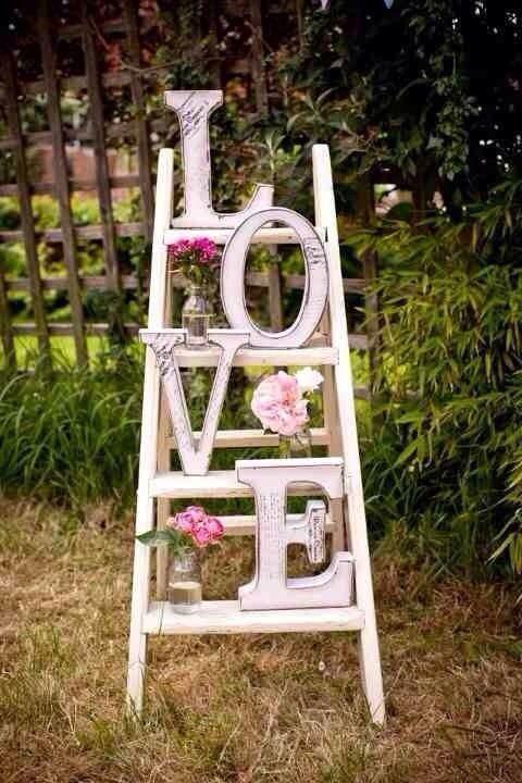 Inicjały I Litery Jako Dekoracja ślubna 5 Najciekawszych Pomysłów