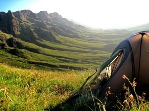 A może relaks na łonie przyrody pod namiotem?
