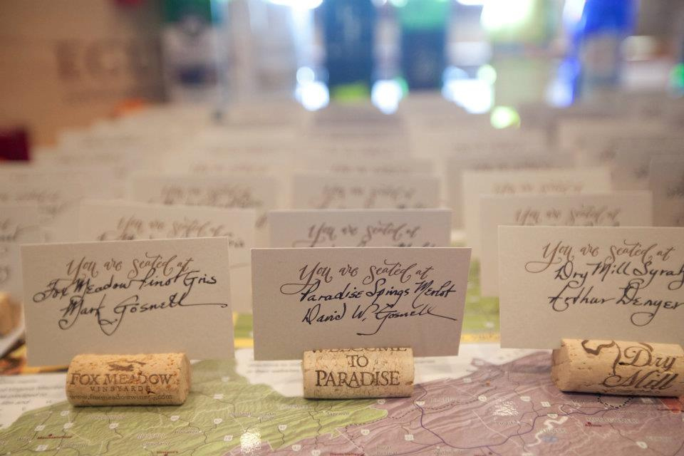 Calligraphed-Wine-Cork-Escort-Cards