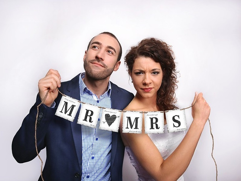 baner-mr-mrs-77cm-1szt