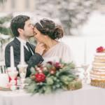 zima wesele
