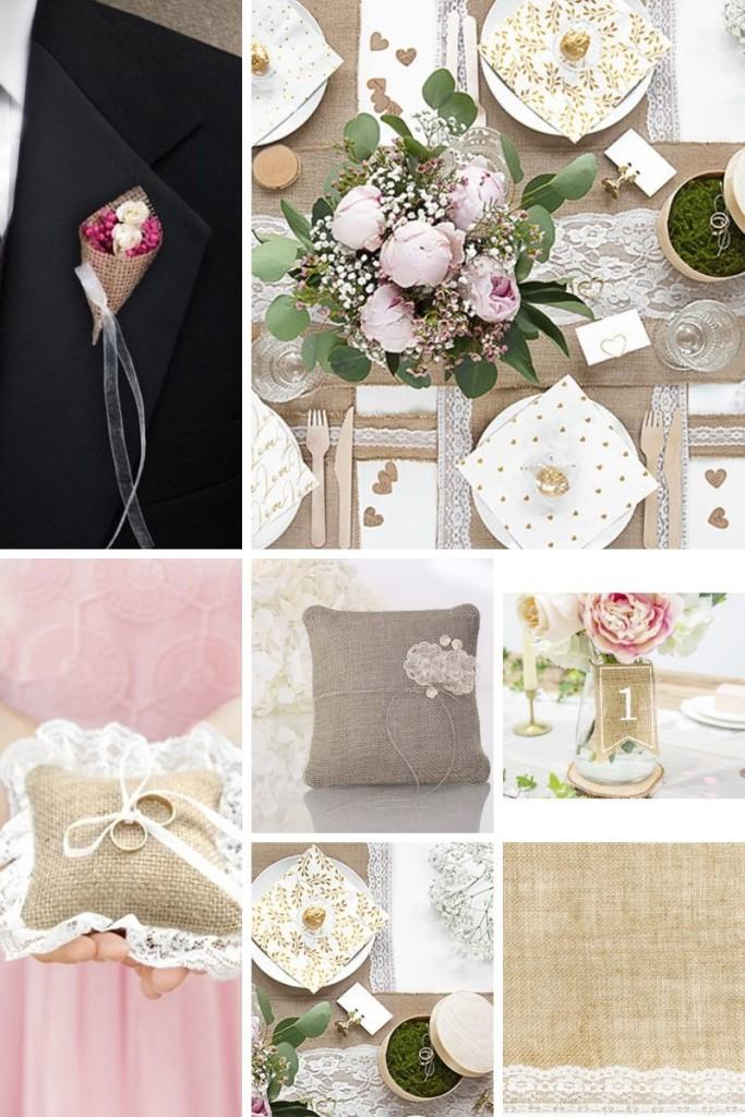 dekoracje-z-juty-na-wesele