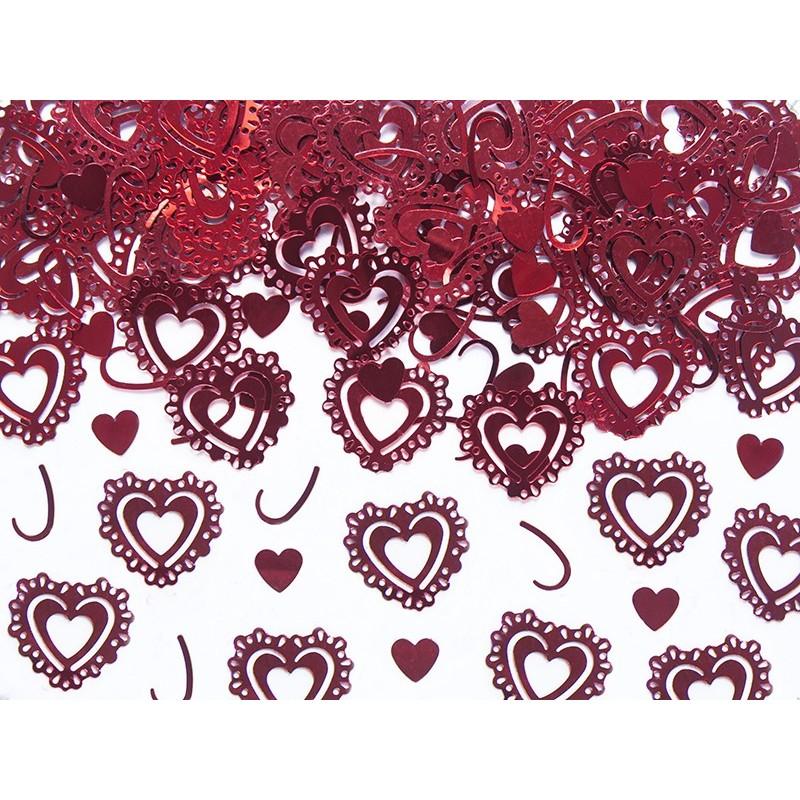 konfetti-serca-czerwony-15g-1op